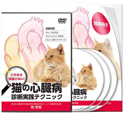 これなら見逃さない! 猫の心臓病 診断実践テクニック│医療情報研究所DVD