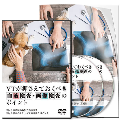 VTが押さえておくべき血液検査・画像検査のポイント│医療情報研究所DVD