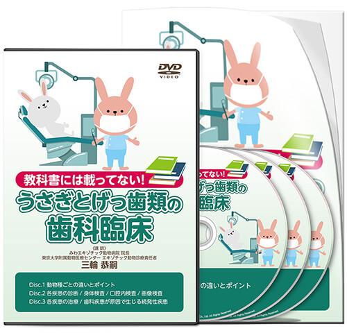 教科書には載ってない!うさぎとげっ歯類の歯科臨床│医療情報研究所DVD