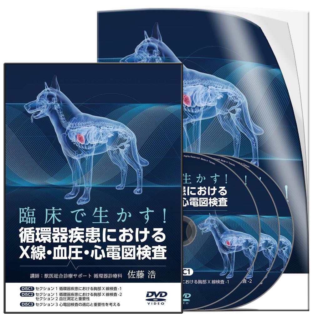 臨床で生かす!循環器疾患におけるX線・血圧・心電図検査│医療情報研究所DVD