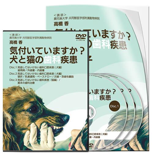 気付いてますか?犬と猫の歯科疾患│医療情報研究所DVD